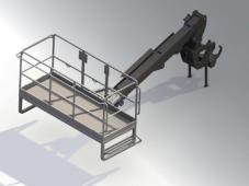 платформа с удлинителем 5 метров